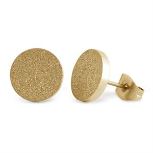 Picture of Gold Diamond Dust Studs